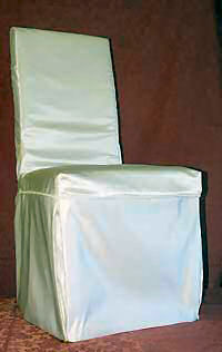 Dining chair loose cover